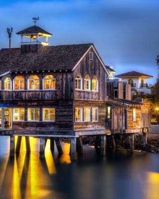 San Diego Pier in Evening - Obrázkek zdarma pro iPhone 5S