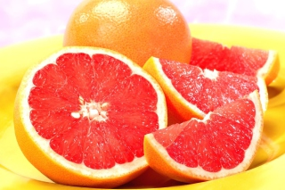 Red Grapefruit Picture for Android, iPhone and iPad
