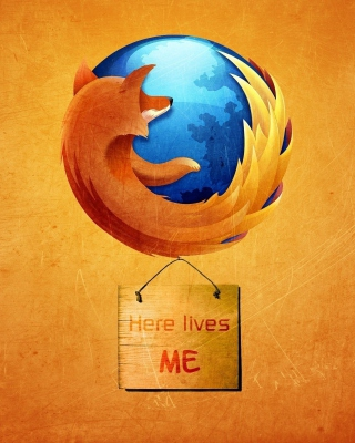 Firefox Internet Shield - Obrázkek zdarma pro 360x640