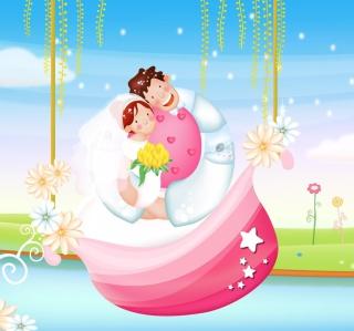 The Couple Love Boat - Obrázkek zdarma pro iPad