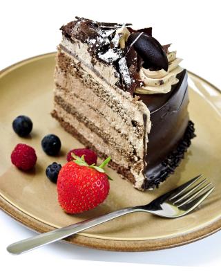 Red velvet cake - Obrázkek zdarma pro 132x176