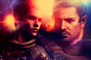 Resident Evil 6, Chris Redfield & Piers Nivans Background for Android, iPhone and iPad