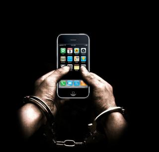 IPhone Dependency - Obrázkek zdarma pro iPad 2