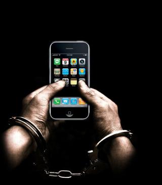 IPhone Dependency - Obrázkek zdarma pro Nokia C2-03