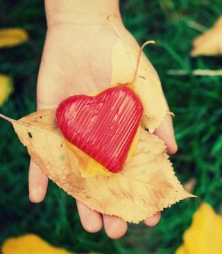 I Heart Autumn - Obrázkek zdarma pro 352x416