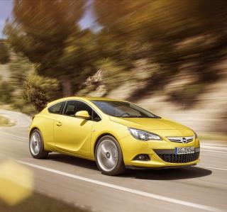 Opel Astra GTC - Obrázkek zdarma pro iPad