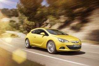 Opel Astra GTC - Obrázkek zdarma pro LG P700 Optimus L7