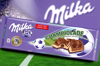 Milka Chocolate Background for Android, iPhone and iPad
