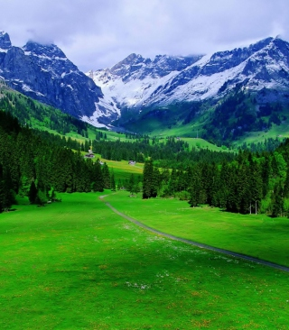 Alps Mountain - Obrázkek zdarma pro 320x480