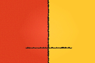Orange Yellow Background Wallpaper for Android, iPhone and iPad
