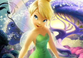 Tinker Bell Background for Android, iPhone and iPad