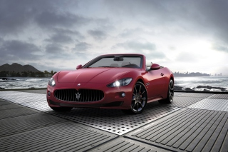 Maserati Grancabrio Sport Background for Android, iPhone and iPad