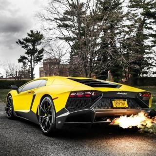Lamborghini Aventador LP720 4 - Obrázkek zdarma pro iPad mini