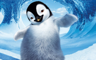 Happy Feet Background for Android, iPhone and iPad