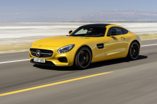 Mercedes AMG GT 2015 Background for Android, iPhone and iPad