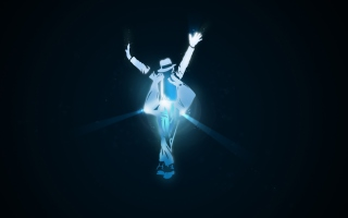 Michael Jackson Dance Illustration Wallpaper for Android, iPhone and iPad