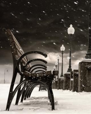 Montreal Winter, Canada - Obrázkek zdarma pro 132x176