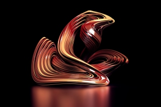 Brown Abstract Picture for Android, iPhone and iPad
