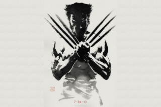 The Wolverine 2013 Background for Android, iPhone and iPad