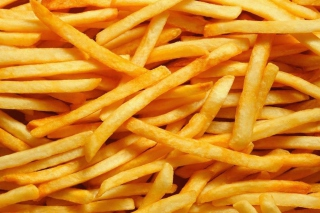 French Fries Background for Android, iPhone and iPad