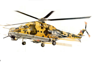 Mil Mi 24D Background for Android, iPhone and iPad