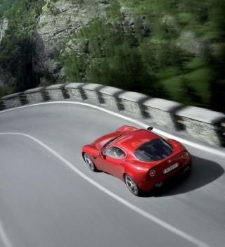 Red Alfa Romeo - Obrázkek zdarma pro 320x320