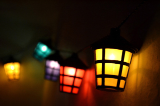Lamps Lights - Obrázkek zdarma pro HTC Desire 310