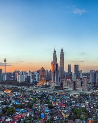Kuala Lumpur Panorama - Obrázkek zdarma pro Nokia C2-00