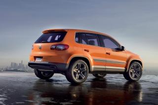 Volkswagen Tiguan - Obrázkek zdarma pro HTC Desire