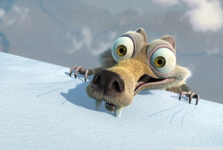 Scrat Ice Age Wallpaper for Android, iPhone and iPad