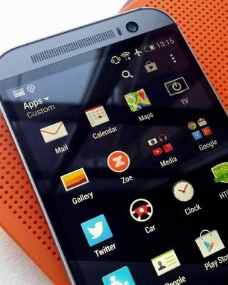 HTC One M8 Smartphone - Obrázkek zdarma pro iPhone 5C