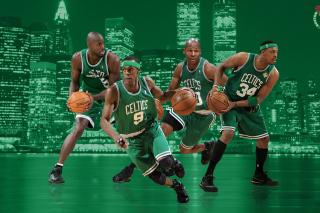 Boston Celtics NBA Team - Obrázkek zdarma pro HTC One X