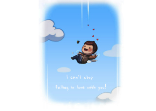 Love Is - I Cant Stop Wallpaper for Android, iPhone and iPad