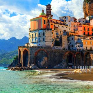 Amalfi Coast, Positano - Obrázkek zdarma pro 320x320
