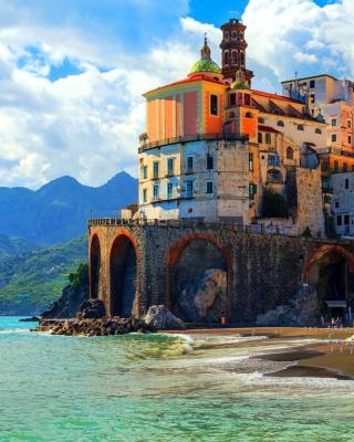 Amalfi Coast, Positano - Obrázkek zdarma pro Nokia C2-00