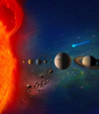 Solar System - Obrázkek zdarma pro Nokia Lumia 520