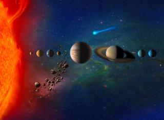 Solar System - Obrázkek zdarma pro LG Nexus 5