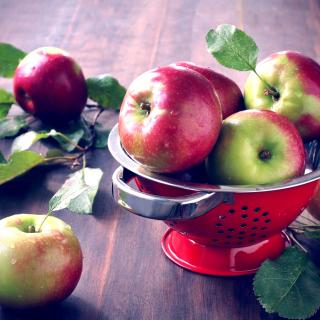 Autumn apple harvest - Obrázkek zdarma pro iPad mini
