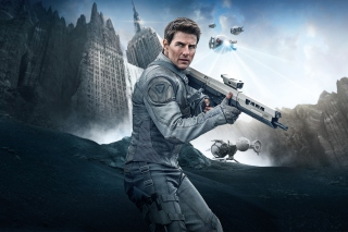 Tom Cruise In Oblivion Background for Android, iPhone and iPad