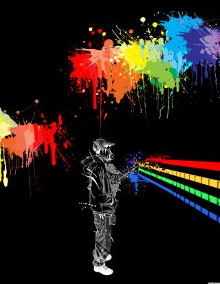 Spray Painting Graffiti - Obrázkek zdarma pro Nokia C2-00