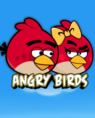 Angry Birds Love - Obrázkek zdarma pro Nokia C-5 5MP