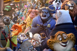 Zootopia 2016 Background for Android, iPhone and iPad