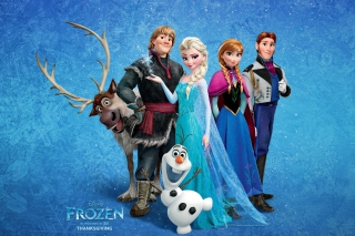 Frozen Background for Android, iPhone and iPad