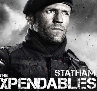 The Expendables 2 - Jason Statham - Obrázkek zdarma pro 320x320