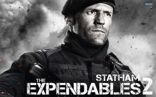 The Expendables 2 - Jason Statham - Obrázkek zdarma pro Nokia Asha 205