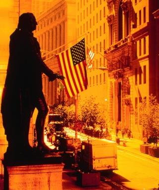 Wall Street - New York USA - Obrázkek zdarma pro 480x854