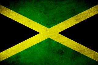 Jamaica Flag Grunge - Obrázkek zdarma pro Samsung Google Nexus S 4G