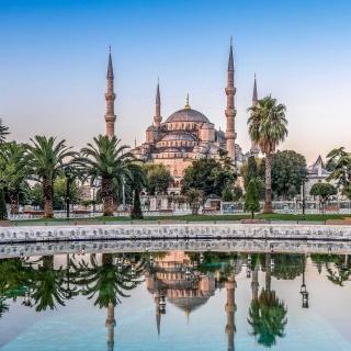 Istanbul Mosque HD - Obrázkek zdarma pro 1024x1024