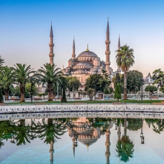 Istanbul Mosque HD - Obrázkek zdarma pro iPad mini 2