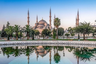 Istanbul Mosque HD Background for Android, iPhone and iPad